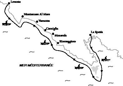 La Spezia Carte Italie